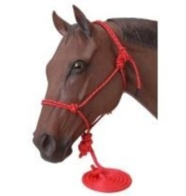 Poly Rope Tied Halter