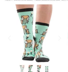 lazy One Pasture Bedtime Crew Sock
