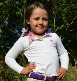 Belle and Bow Show Shirt Long Sleeves Pony & Bow