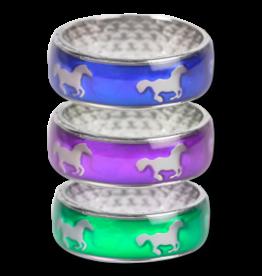 WALDHAUSEN Mood Ring - Horses at a gallop