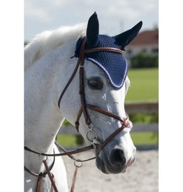 PESSOA Figure 8 Padded Jumper Bridle with Rubber Covered Reins