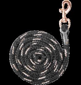 WALDHAUSEN Lead Rope Lurex Rose Gold Snap Hook