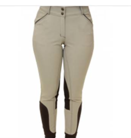 Royal Highness Contrast Piping Knee Patch Breech