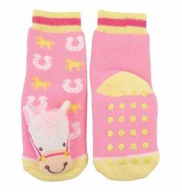 G.T. REID Infant Sock with horsehead