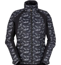 Kerrits Riders Delite Print Quilted Jacket