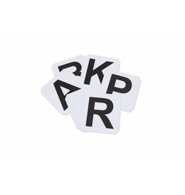 Dressage Stick on Letters (AFBMCHEK)