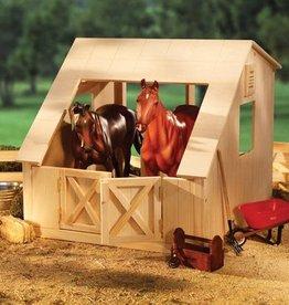 Breyer Breyer wood stable 2 stall barn