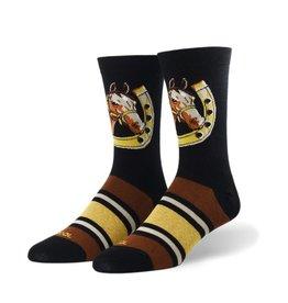 Odd Socks Women's Crew Sock horse in shoe
