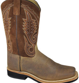 Smoky Mountain Boonville Brown Distress Leather Western Boot Men's