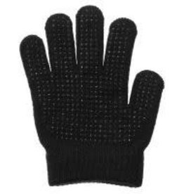 Tough 1 Children's Pebbled Grip Stretchy Knit Riding Gloves