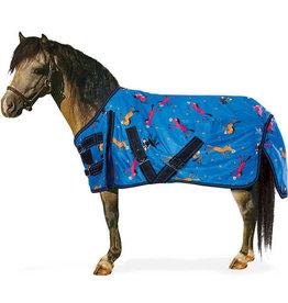 Centaur 600D Pony Print Pony Turnout Blanket- 200g