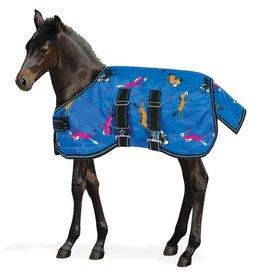 Centaur 600D Pony Print Foal Turnout Blanket- 200g