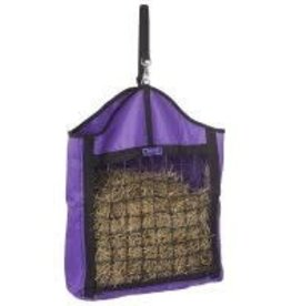 Tough 1 Nylon Hay Tote with Net Front - Black