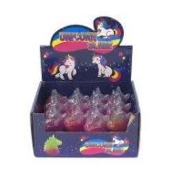 Unicorn Head Rainbow Slime