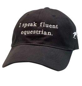 Stirrups I Speak Fluent Equestrian Cap