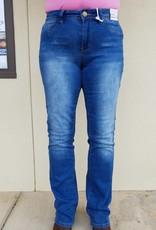 YMI Mid Rise Soft Stretch Boot Cut Jeans