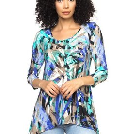 Casual Flowing Tunic Top