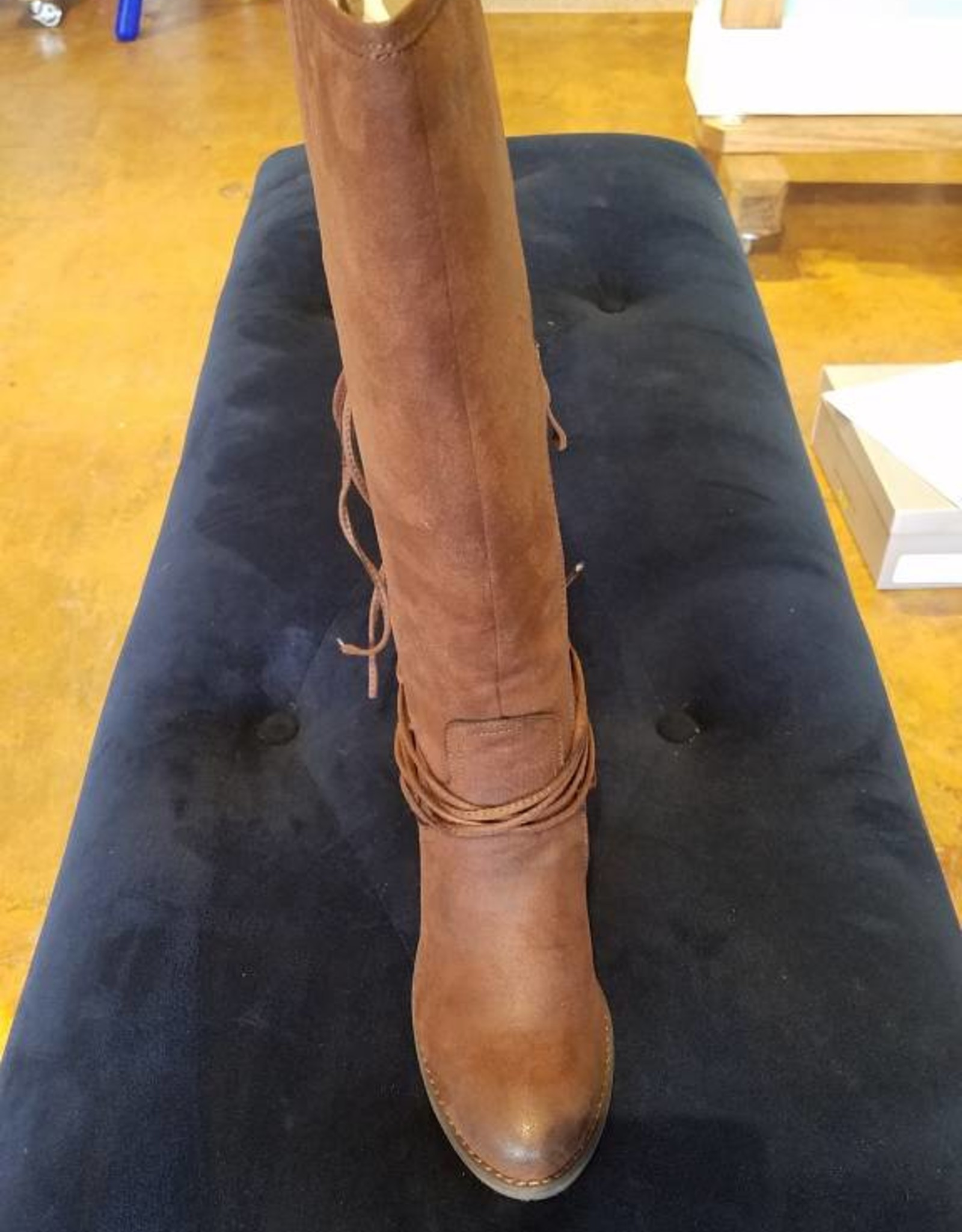 Volatile Lace Up Riding Boots