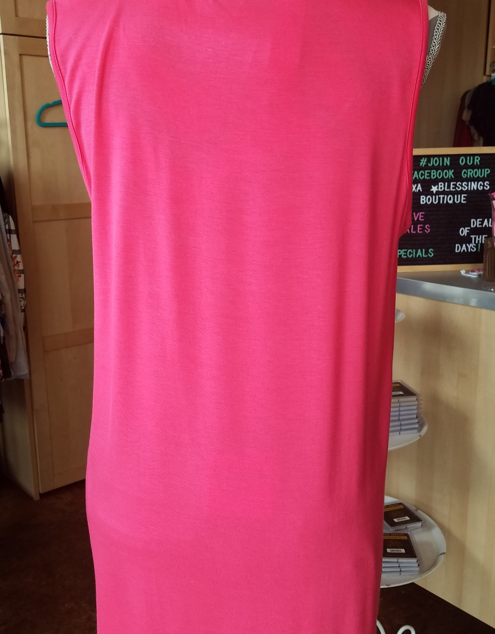 Spin Sleeveless T-Top