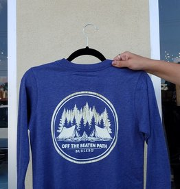 Burlebo Off the beaten path youth LS T-Shirt