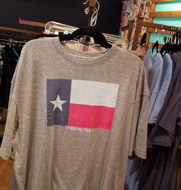 Tied To Tex Tied To Texas Flag