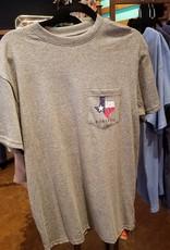 Burlebo Fish Texas SS Mens Pocket T-Shirt