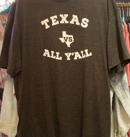 Tied To Tex Texas vs ALL Y'all Mens SST shirt