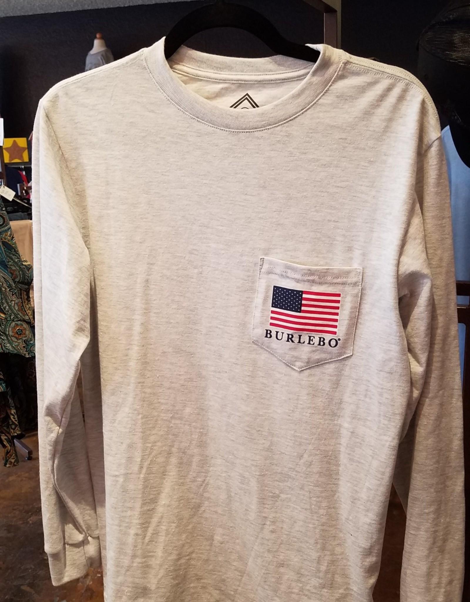 Burlebo Long Sleeve T-Shirt Raised on Reagan