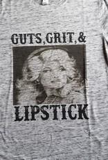 ThreadFast Dolly Guts, Grit, & Lipstick SS T-Shirt
