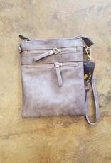 N Gil Faux Leather Crossbody
