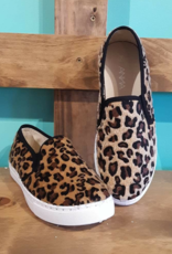 Anna Leopard Slip On Loafers