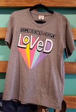 JLB Fully Known Deeply Loved T-Shirt