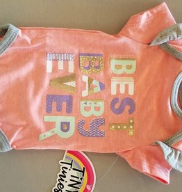 Tiny Tinies Best Baby Ever onesie