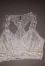 Lace Bralette With Hourglass Back
