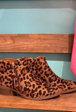 Verona Collection Leopard Tassel Booties
