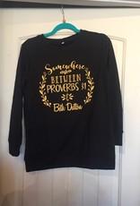 Somewhere Between Proverbs 31 & Beth Dutton LS T-Shirt