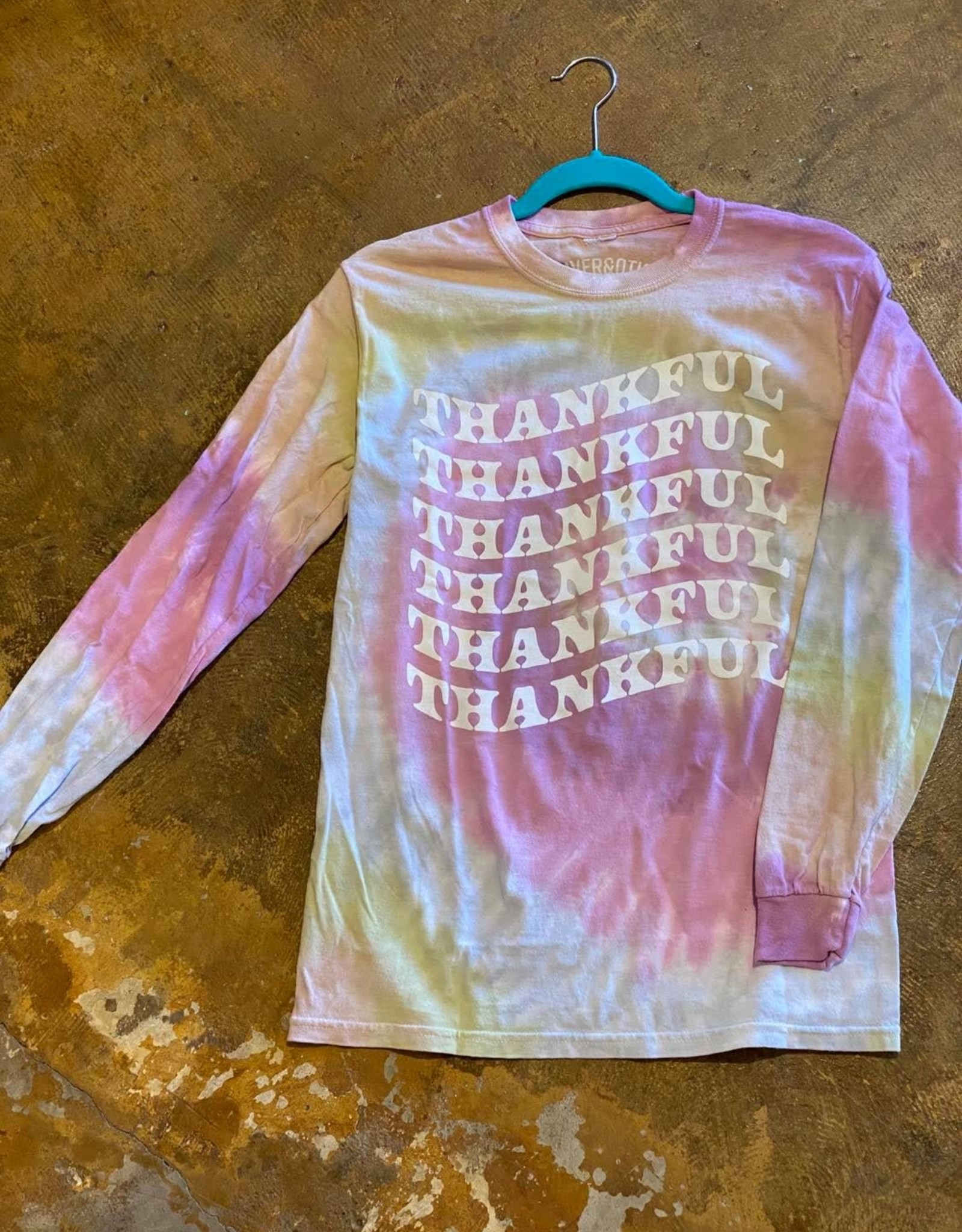Tye Dye LS Thankful T-Shirt
