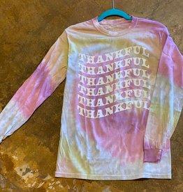 Tye Dye LS Thankful T-Shirt