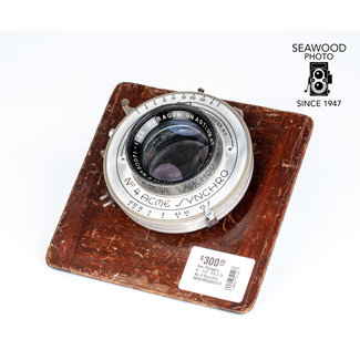 "Ilex Paragon 8-1/2"" f/4.5 in No.4 Synchro GOOD-"