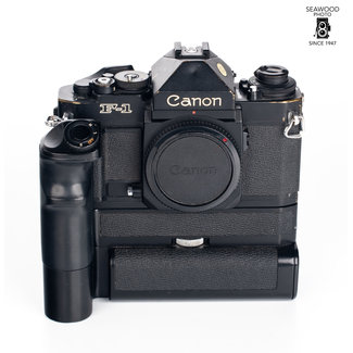 Canon Canon F-1N Body with Motor Drive GOOD