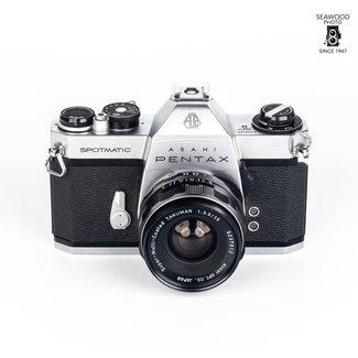 Pentax Pentax Spotmatic SPII with 35mm f/3.5 GOOD