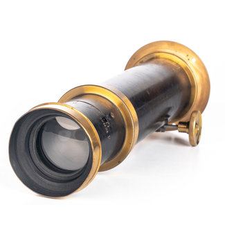 Unknown Brass Unnamed Lens with Tele-Extender (Darlot?) GOOD