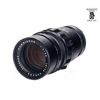 Leica Leica 90mm f/2 Summicron-M Black GOOD