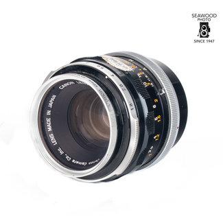 Canon Canon FL 50mm f/1.8 FD lens