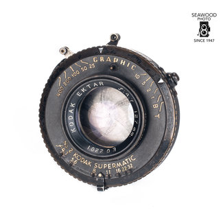 Kodak Kodak 127mm f/4.7 Ektar Military WWII GOOD