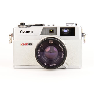 Canon Canonet QL17 G-III QL W/ 40mm F/1.7 White