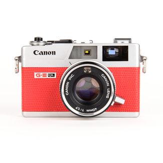 Canon Canonet QL17 G-III QL W/ 40mm F/1.7 Red