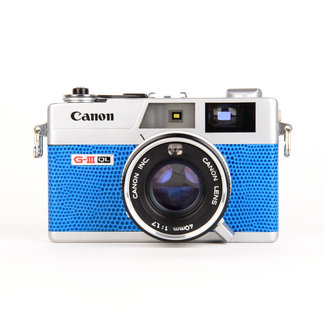 Canon Canonet QL17 G-III QL W/ 40mm F/1.7 Blue