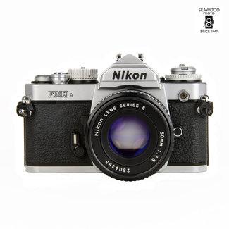 Nikon FM3A  w/50mm f/1.8 Lens