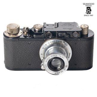 Leica Leica II Black (1935) w/Leitz Elmar 5cm F/3.5 (1934) + Accessories